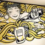 ビールイラストレーターToaの個展開催
